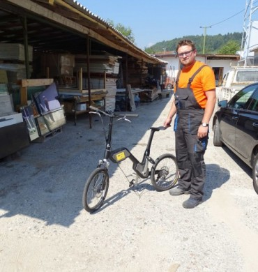 A prototype of an electric bicycle was made in the newly established Centre for the production of pr